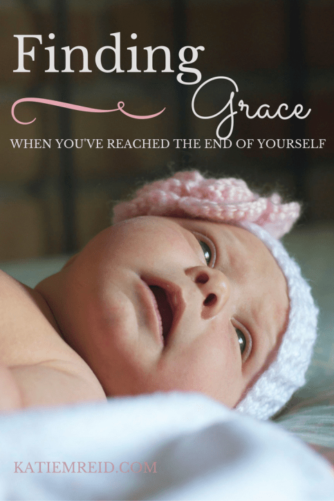 Finding grace when you've reach the end of yourself by Katie M. Reid Photography
