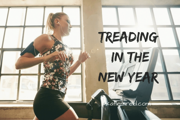 Treading in the New Year spoken word by Katie M. Reid