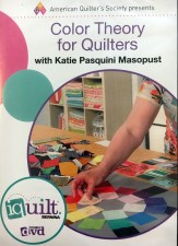 Color Theory for Quilters DVD Katiepm