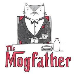 The Godfather cat pun illustration