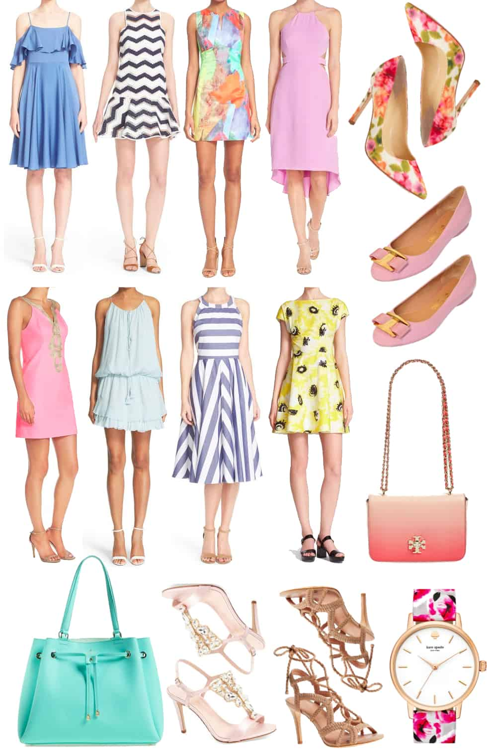 Spring Shopping Wishlist Dresses Amp Accessories Katie