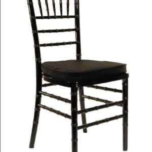 Chiavari Chair – Black Wood