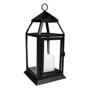 Black Carriage Lantern