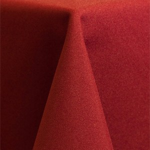 Solid Polyester – Cherry red