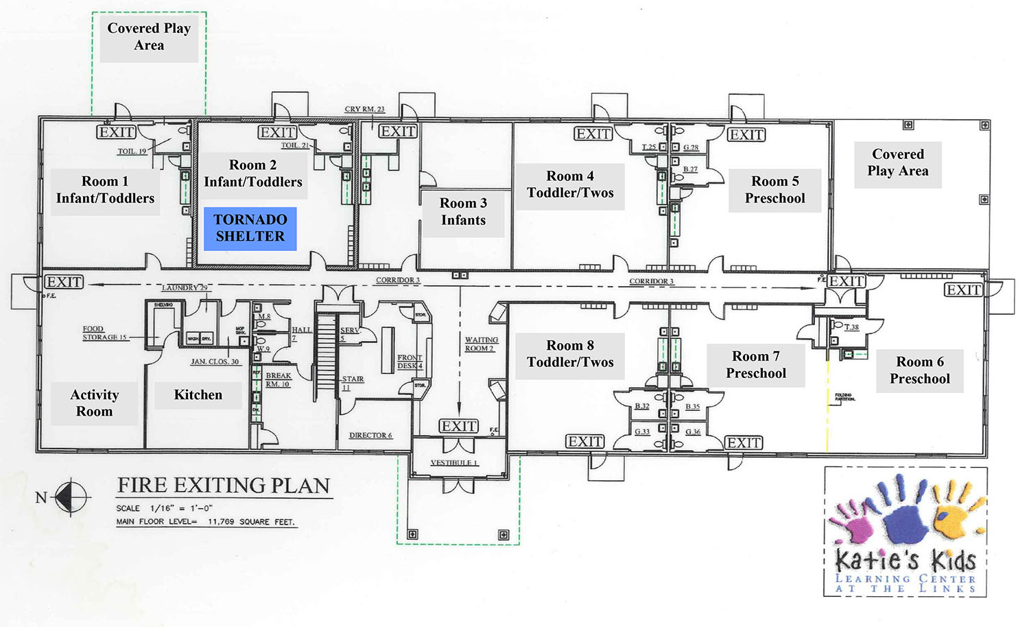 Facility Construction Floorplans At Katie S Kids Learning Center Developing Relationships The Heart Of Quality Childcare