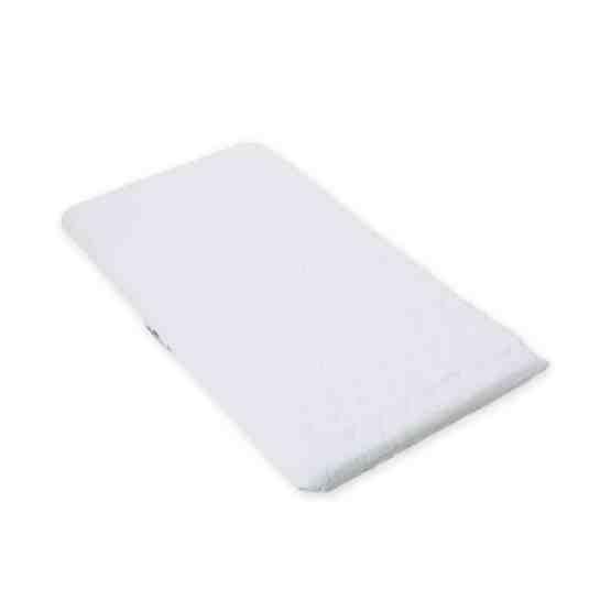 SUZY® Microfibre Hypoallergenic Crib Mattress 84 x 38 x 4cm Thick – Square Corners