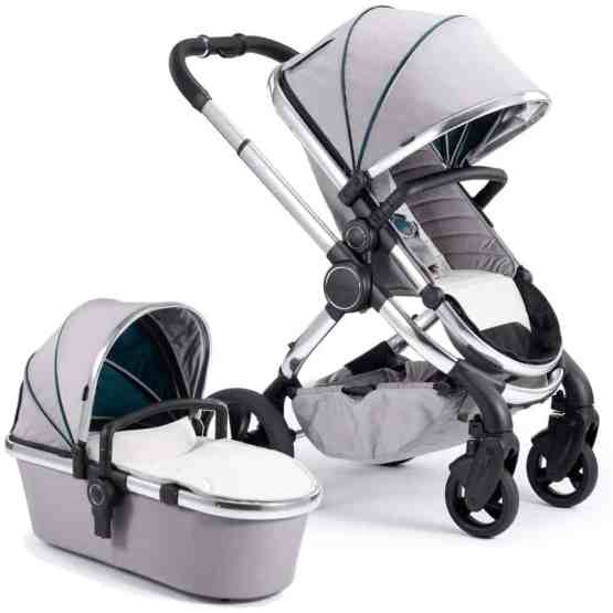 iCandy Peach Chrome Bundle – Dove Grey