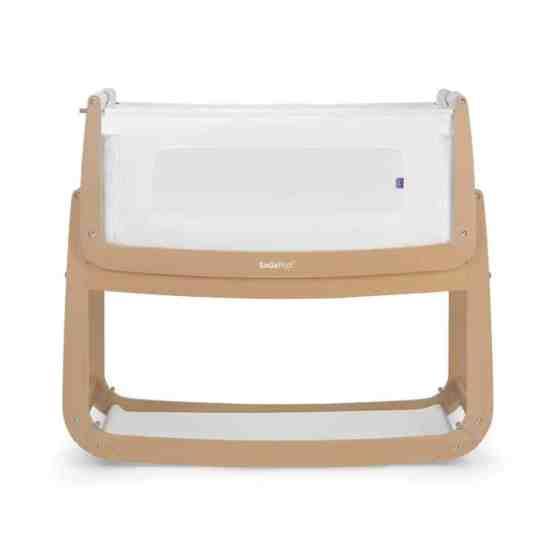SnuzPod3 Bedside Crib 3 in 1 – Natural