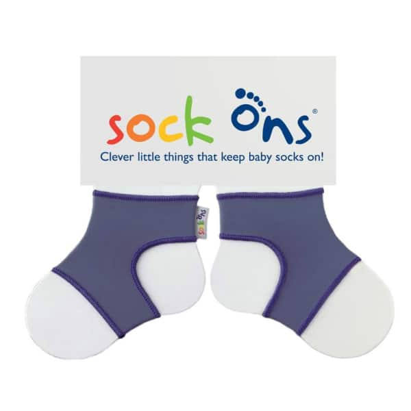 Sock Ons Blueberry (0-6 Months)