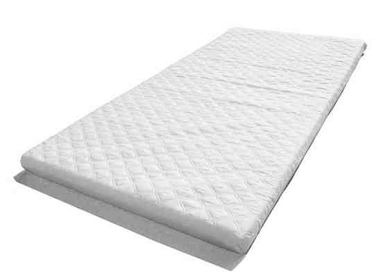 LAURA® 119 x 59cm 5cm Thick Quilted Microfibre Hypoallergenic Baby Travel Cot Mattress