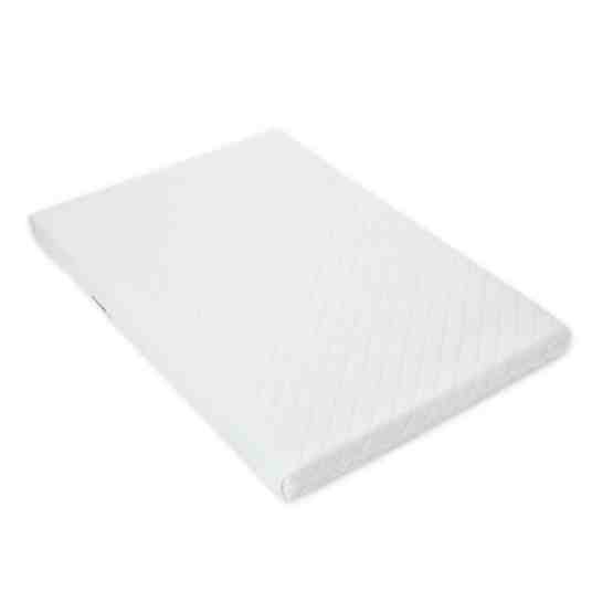 LAURA® Deluxe Hypo-Allergenic Eco Air Flow Quilted Dual Sided Travel Cot Mattress 95 x 65cm x 7cm Extra Thick British Made