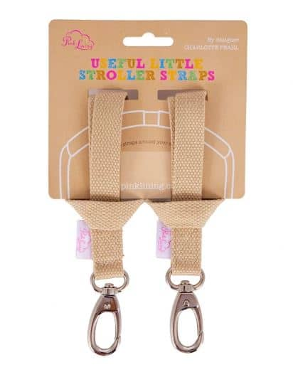 Pink Lining Stroller Straps