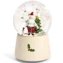 MP Santa Snow Globe