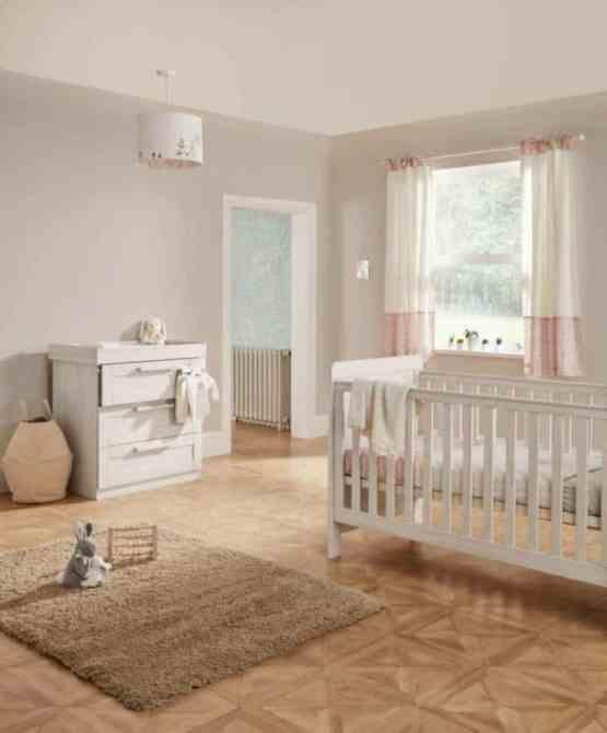 Mamas & Papas Atlas 2 Piece Nursery Furniture Set – Nimbus White