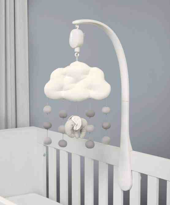 Mamas & Papas Welcome To The World Mobile – Grey Elephant