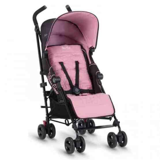 Silver Cross Zest Stroller- Powder Pink