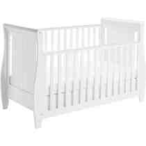 Babymore Stella Cotbed White