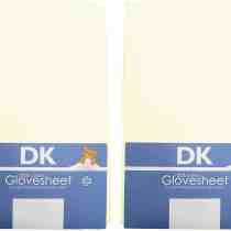 DK 2 Pack Cream Sheets
