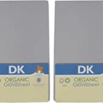 DK 2 Pack Grey GOTS Sheets