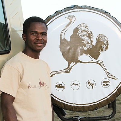 Ludovick Benjamin, Katikati Tours and Safaris, Franch Speaking Safari Guide