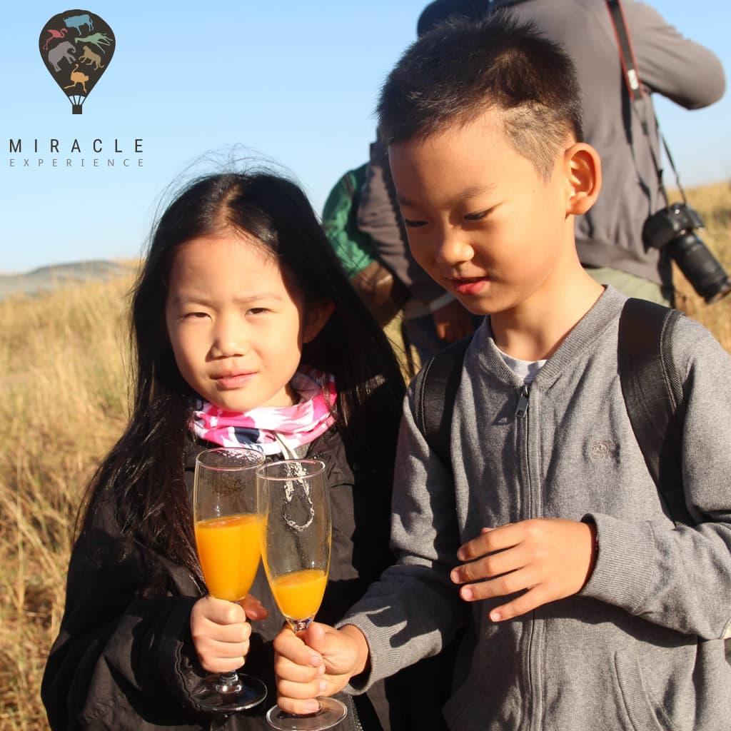 Serengeti Balloon Safaris are for the entire family