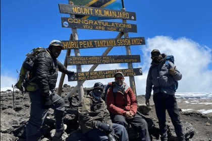 A New Trekking Route to Kilimanjaro Summit