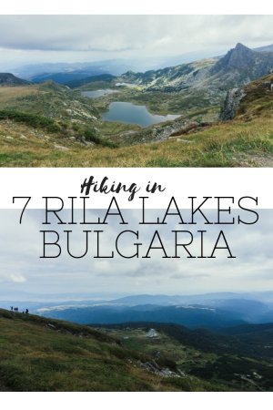With its stunning scenery, the 7 Rila Lakes hike in Bulgaria is one of the best day trips to take from the capital of Sofia