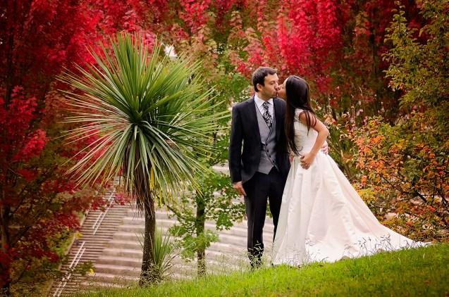 Fotografia de boda en Miramón (Donostia)