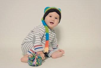 Fotografía de estudio bebé Errenteria