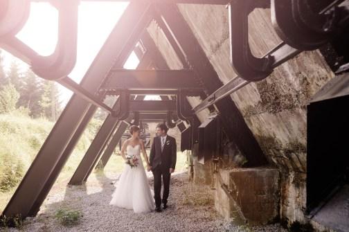 Reportaje de boda realizado en Zerain. Junio 2015.