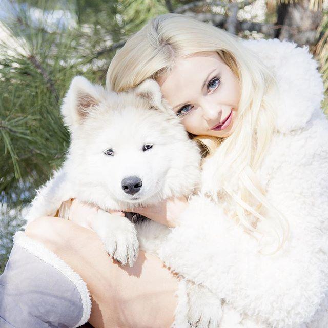 SnowQueen & WhiteWolf ️ @annikasamoyed