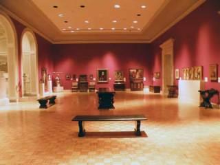 second floor of the Memorial Art Gallery