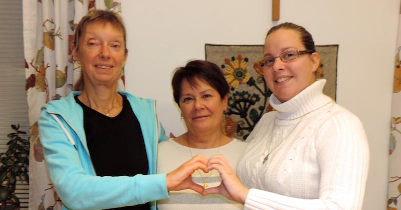 Hälso- och sjukvårdsgruppen har på olika sätt presenterats i församlingen.