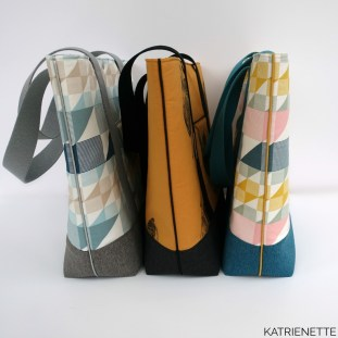 katrienette tienertas tote tas bag handtas jace naaien zelf sewing bagmaking shopper shoppingbag sewing bags tiener tieners katrien
