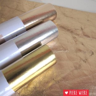 Pieke Wieke rico design wasbaar papier rose metallic