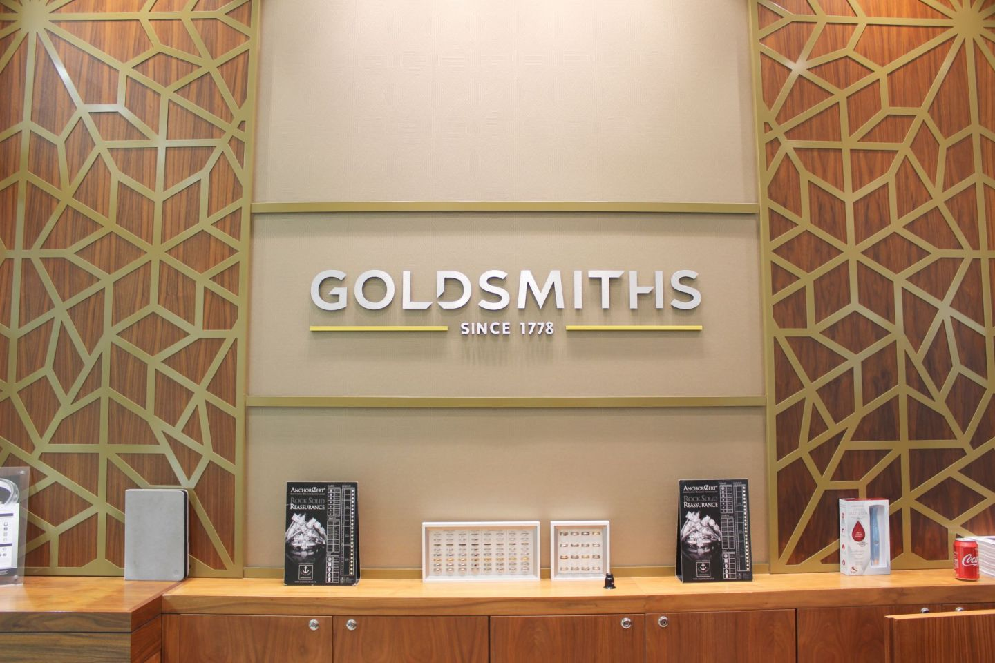 Goldsmiths Birmingham Sign