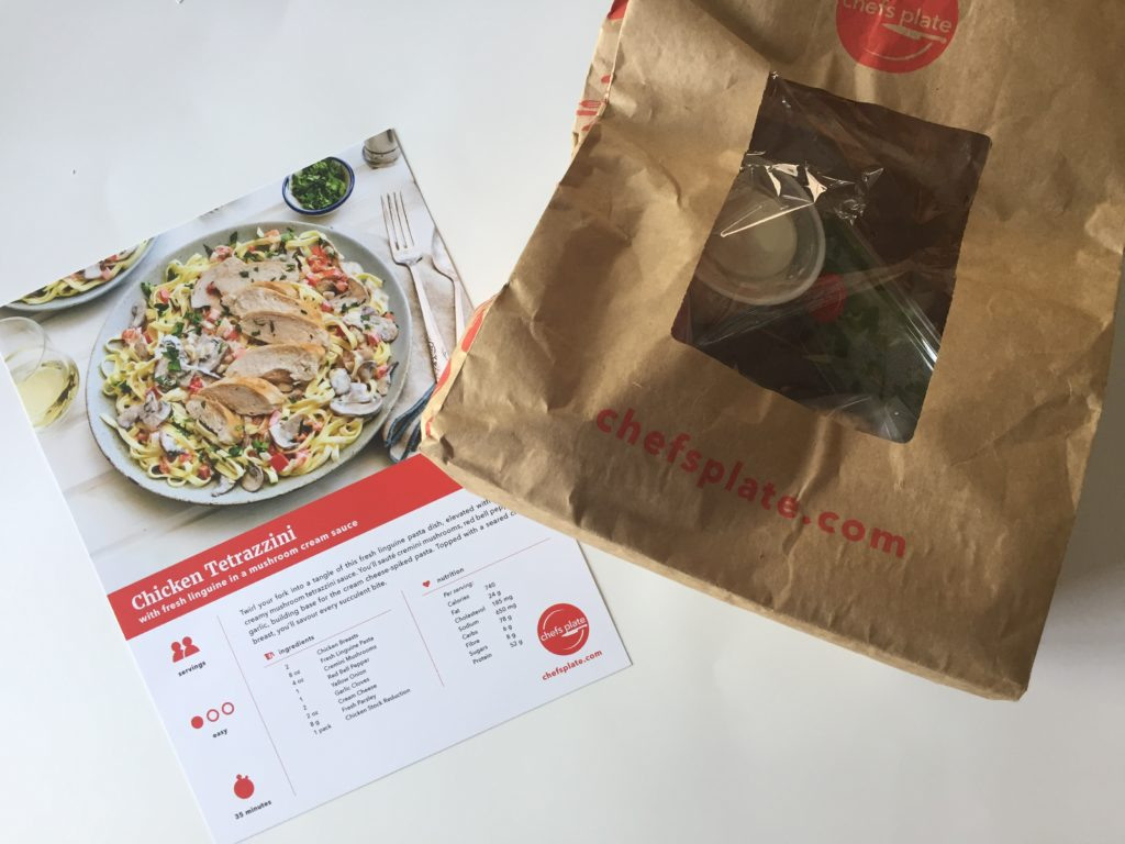 Chefs plate meal review - love the individual bags of ingredients