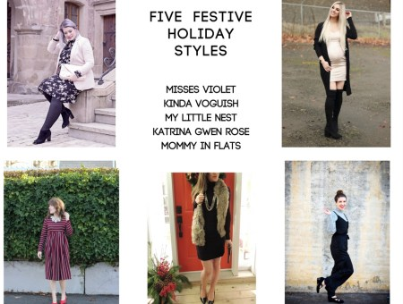 Five Festive Holiday Styles l Katrina Gwen Rose