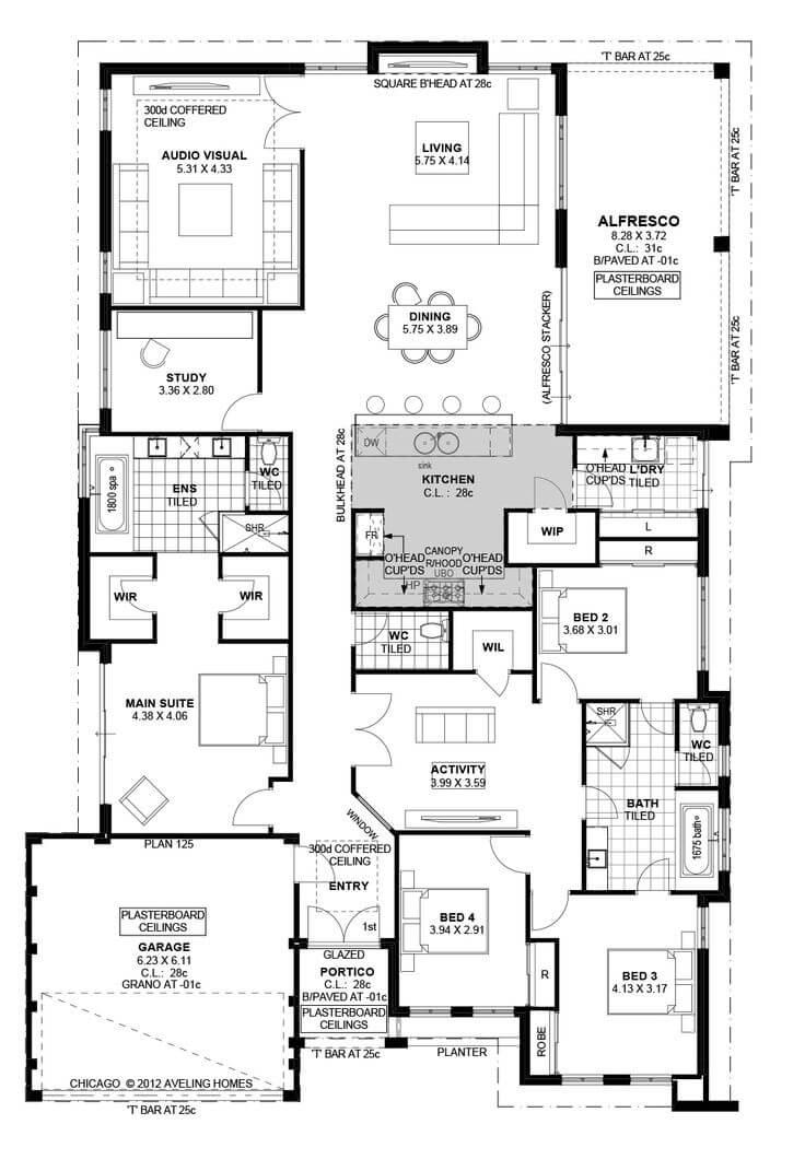 Bock Bath Plans House 2 Floor Bed Masonry 3