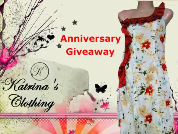 2nd anniversary dress giveaway