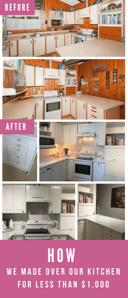 How I made over our kitchen for less than $1,000