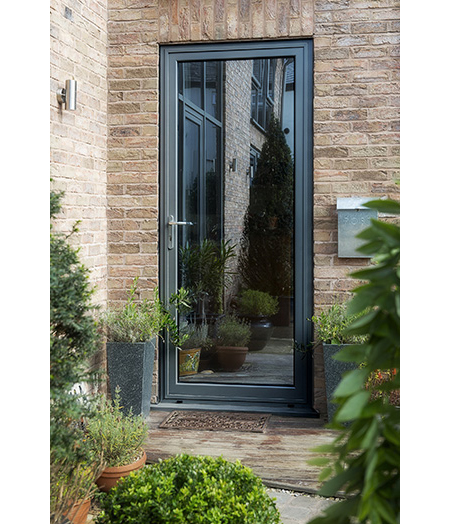Bespoke Aluminium Door By KAT For Interior Designer KAT
