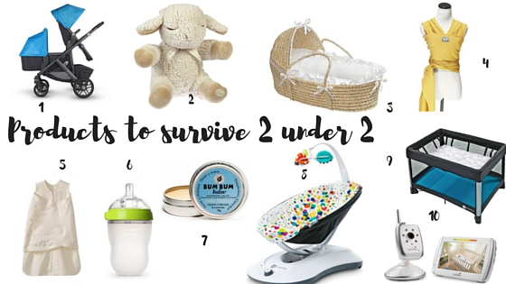 Products to Survive 2 under 2