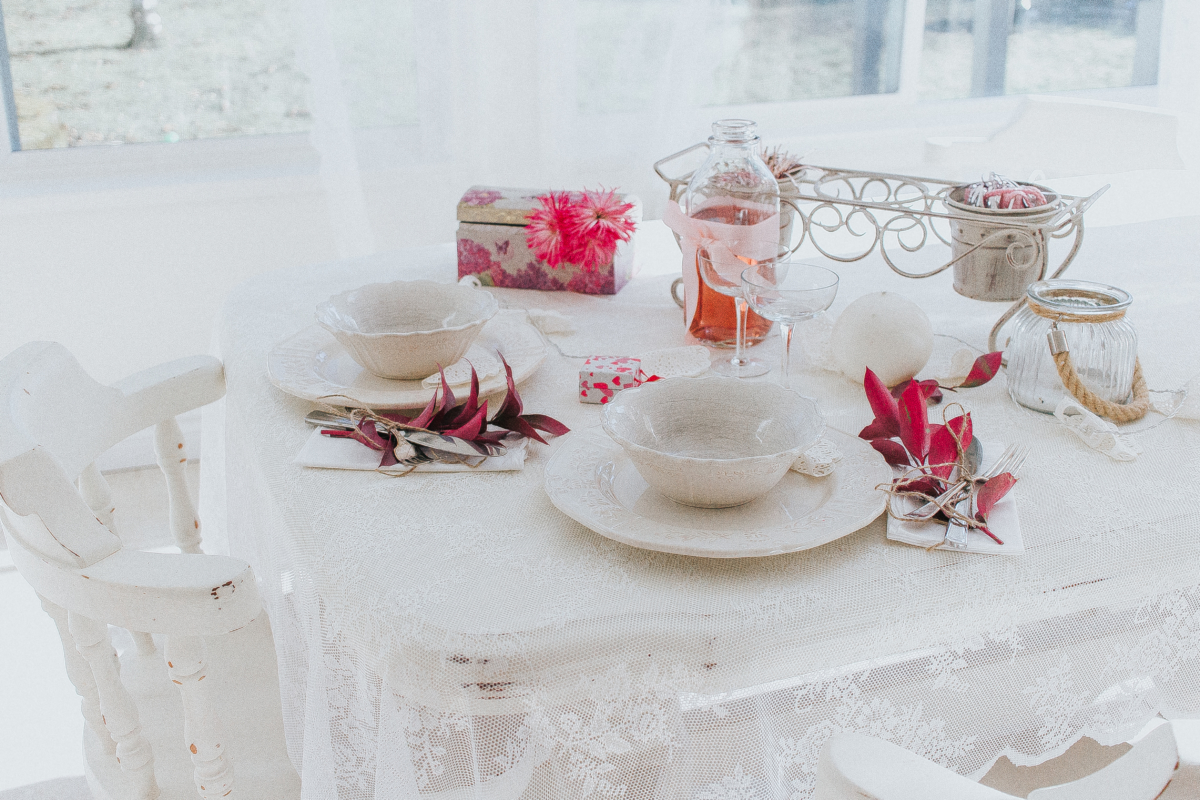 Pretty In Pink U2013 Shabby Chic Valentines Day Tablescape