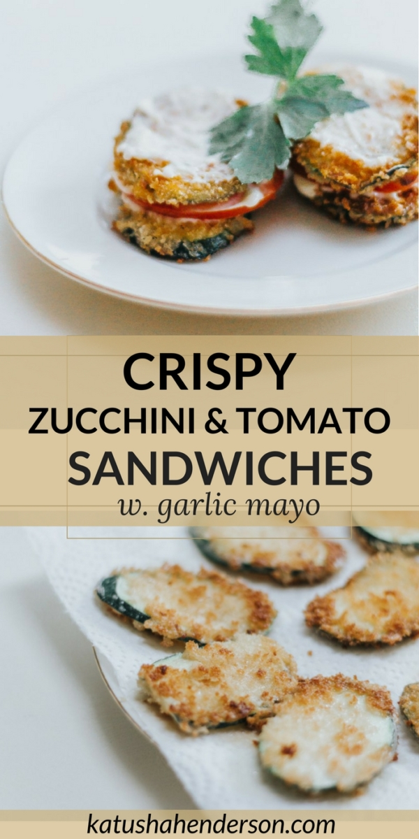 crispy zucchini and tomato