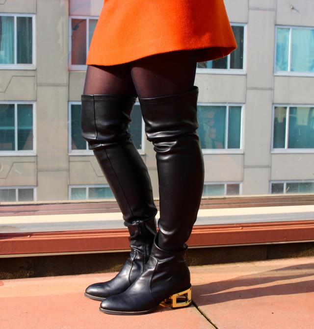 KatWalkSF Jeffrey Campbell via Nasty Gal Basie Boot