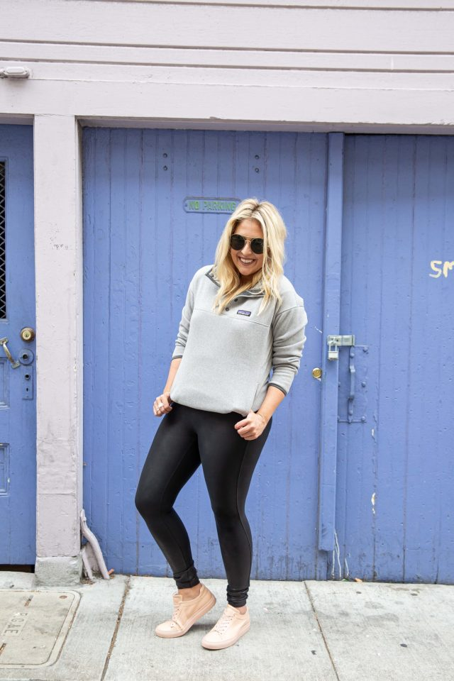 Spanx Leather Leggings, Spanx, Patagonia, North Face, Nordstrom Anniversary Sale Activewear