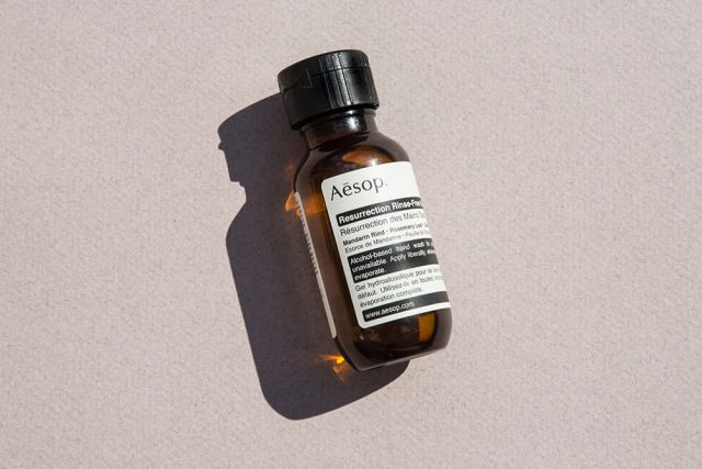 Aesop Resurrection Rinse-Free Hand Wash, Pricey Beauty Products, Aesop Hand Sanitizer,