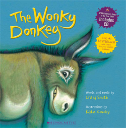 The Wonky Donkey Cover big