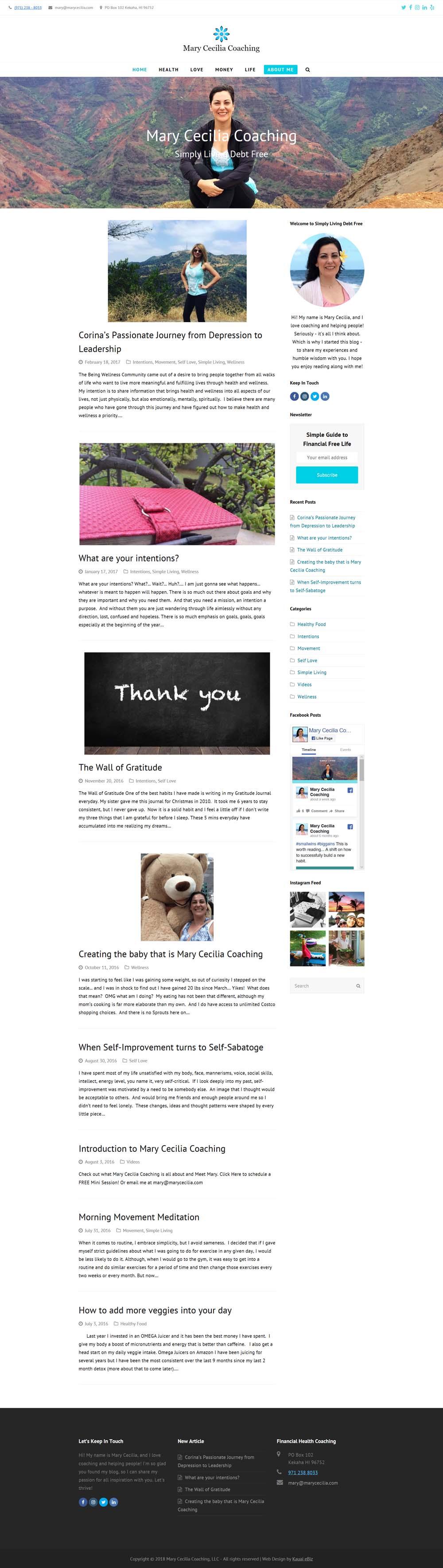 Personal Blog Desgin